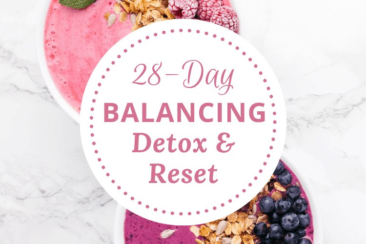 banner image for balancing detox and reset