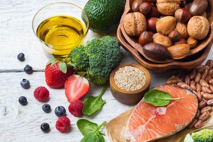 food list for  hormone balance eating plan