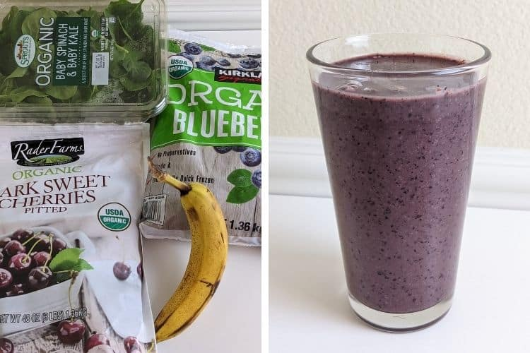 green smoothie recipes for low iron