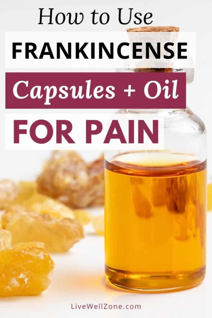 pin - which frankincense is best for pain and inflammation