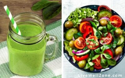 Green Smoothie vs Salad: Which is Better   Pros and Cons